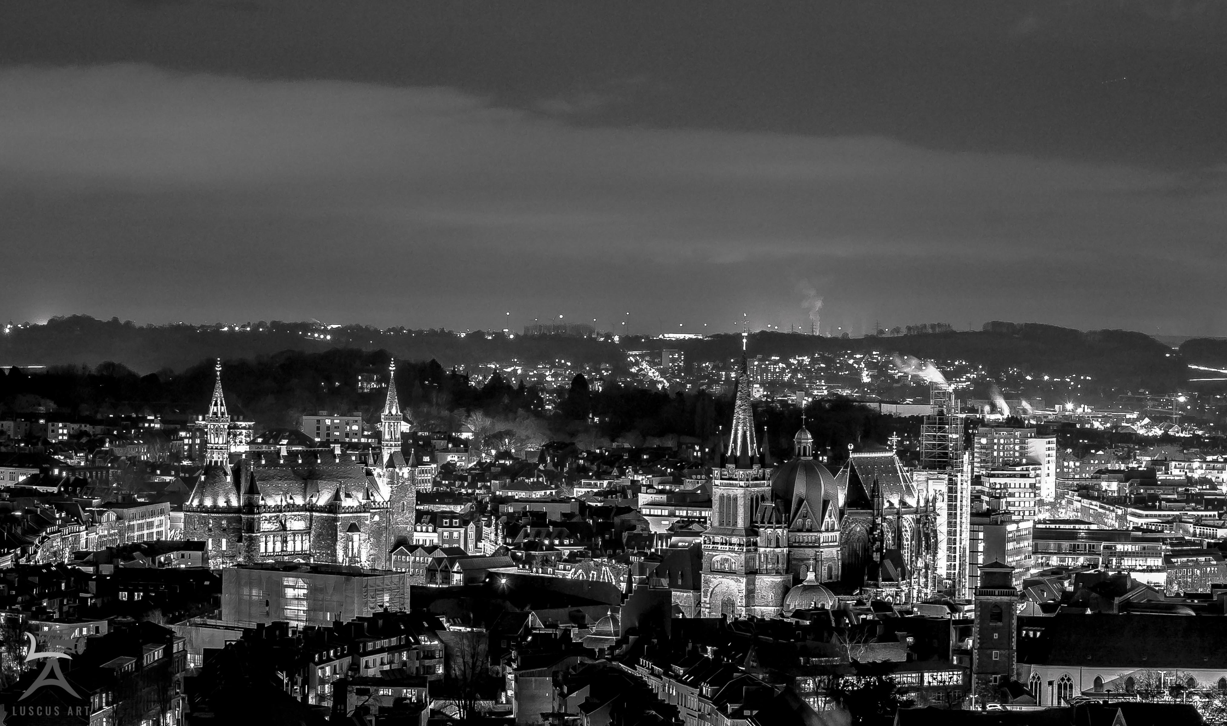 Aachen schwarz-weiß