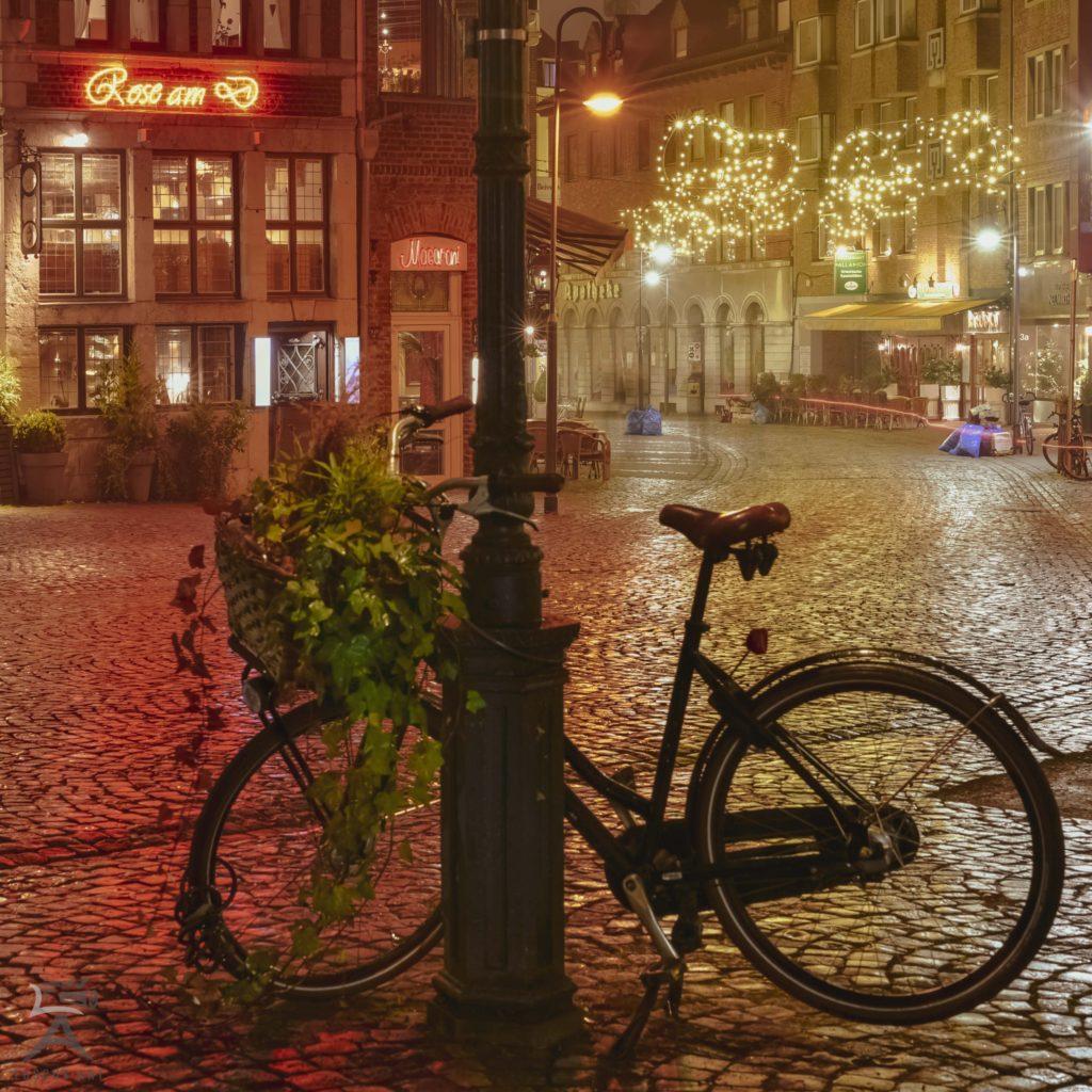 Fahrrad in Aachen