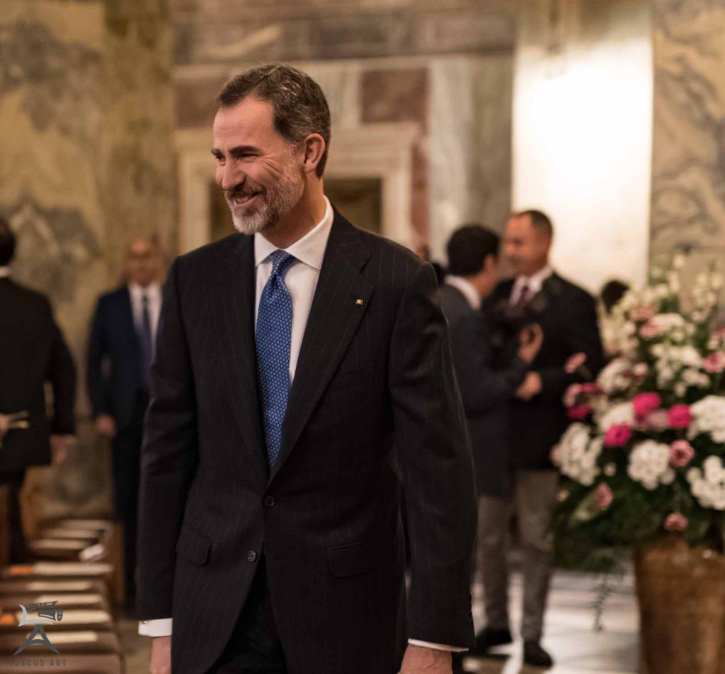 Karlspreis 2018 König Felipe VI von Spanien